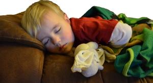 Child sleeping afternoon nap