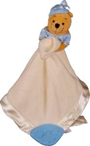 Winnie the Pooh Teething Blanket